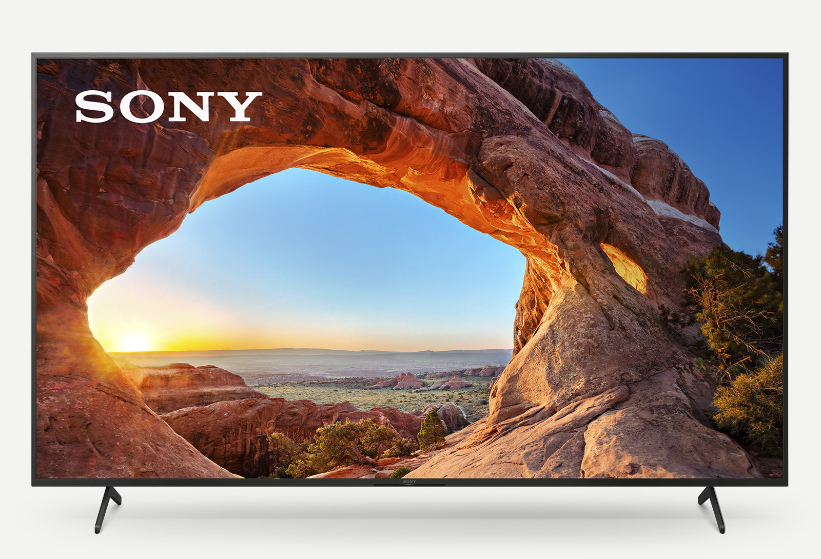 Sony Pro Bravia X85J JSeries television Front Audio Active